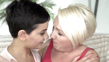 Good-looking blonde and brunette enjoy nasty sex games